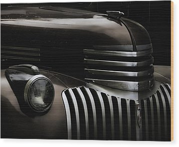 Midnight Grille Wood Print by Ken Smith