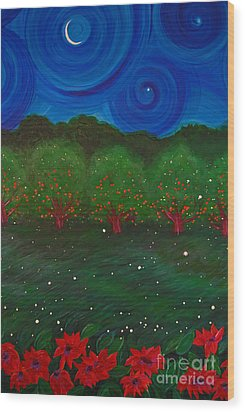 Midsummer Night By Jrr Wood Print by First Star Art