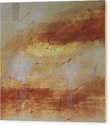 Mist #2 Wood Print by Lauren Petit