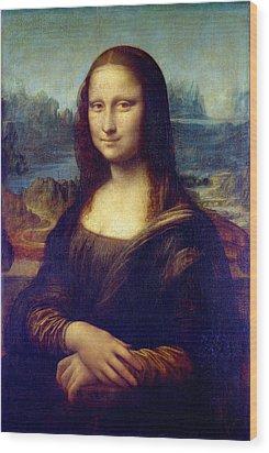 Mona Lisa Wood Print by Karon Melillo DeVega
