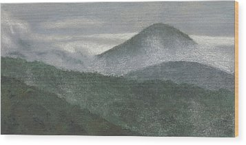 Mount Judea Wood Print by Garry McMichael