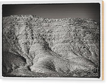 Mountain Mounds Wood Print by John Rizzuto