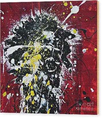Mr. Nobody Wood Print by Ismeta Gruenwald