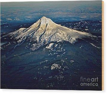 Mt Hood Wood Print by Jon Burch Photography