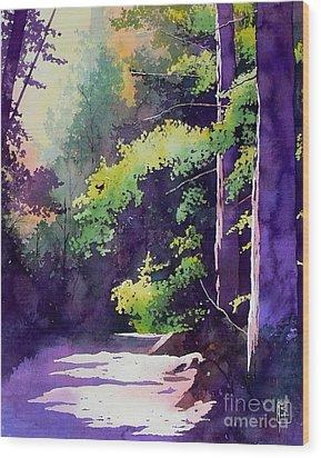 Muir Woods Wood Print by Robert Hooper