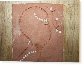 Naomi - Tile Wood Print by Gloria Ssali
