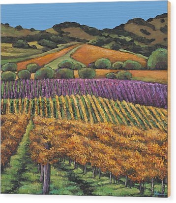 Napa Wood Print by Johnathan Harris