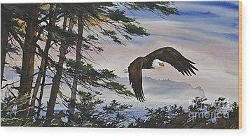 Natures Grandeur Wood Print by James Williamson
