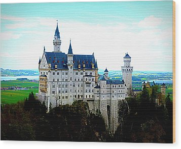 Neuschwanstein Castle  Wood Print by The Creative Minds Art and Photography