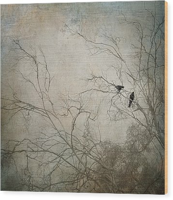 Nevermore... Wood Print by Amy Weiss