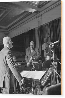 New Orleans Jazz Orchestra Wood Print by William Morgan