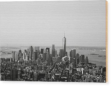 New York City Wood Print by Linda Woods