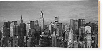 New York City Skyline Wood Print by Diane Diederich