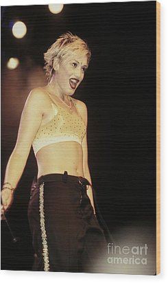 No Doubt Wood Print by Concert Photos
