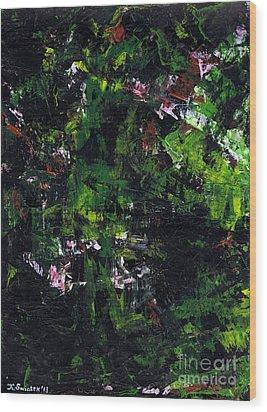 No Leaf Clover - Left  Wood Print by Kamil Swiatek