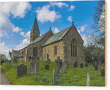 North Otterington Church Wood Print by Trevor Kersley
