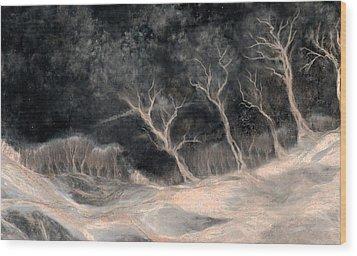 O2 Wood Print by Hans Neuhart