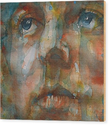 Oh Darling Wood Print by Paul Lovering