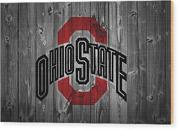Ohio State University Wood Print by Dan Sproul