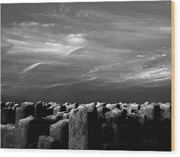 Once There Was A Place Wood Print by Bob Orsillo