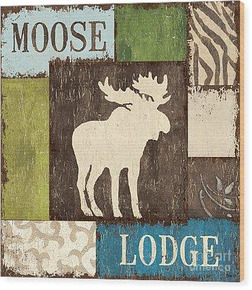 Open Season 1 Wood Print by Debbie DeWitt