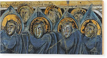 Order Of Cherubim Angels - Study No. 2 Wood Print by Steve Bogdanoff