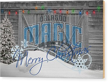 Orlando Magic Wood Print by Joe Hamilton
