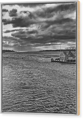 Osterville Wood Print by Keith Woodbury