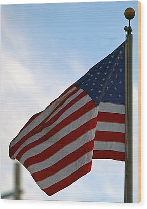 Our Flag Was Still There Wood Print by Shoal Hollingsworth