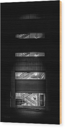 Outside Looking In Wood Print by Bob Orsillo
