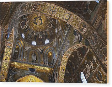 Palatine Chapel Wood Print by RicardMN Photography