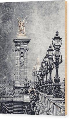 Paris Pompous 2 Wood Print by Joachim G Pinkawa