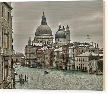 Wood Print featuring the photograph Past Time by Thierry Bouriat