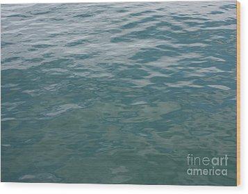 Peaceful Water Wood Print by Carol Groenen