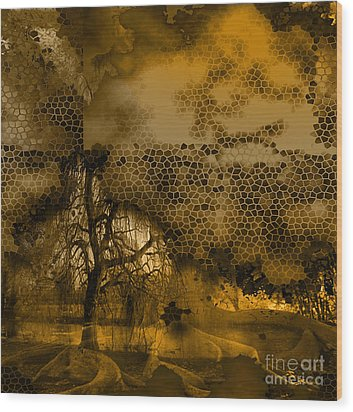 Peer Wood Print by Yanni Theodorou