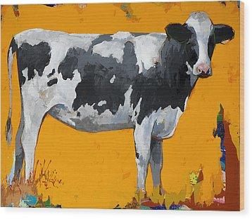 People Like Cows #16 Wood Print by David Palmer