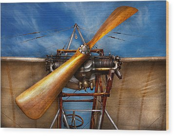 Pilot - Prop - They Don't Build Them Like This Anymore Wood Print by Mike Savad