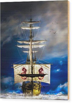 Pirates Wood Print by Bob Orsillo