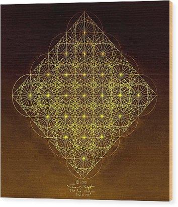 Planck Space Time  Wood Print by Jason Padgett