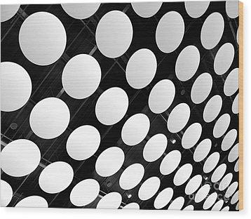 Polka Dots Wood Print by Ann Horn