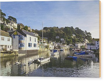 Polperro Cornwall England Wood Print by Colin and Linda McKie