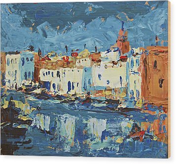 Port De Bizerte Wood Print by Brian Simons