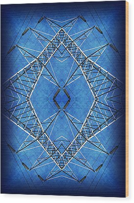 Power Up 2 Wood Print by Wendy J St Christopher