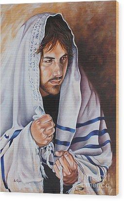 Prayer For Israel Wood Print by Ilse Kleyn