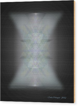 Predawn Chalice Still All One Wood Print by Christopher Pringer