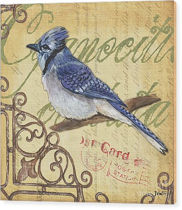 Pretty Bird 4 Wood Print by Debbie DeWitt