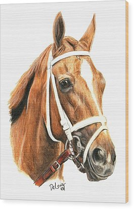 Princess Of Sylmar Wood Print by Pat DeLong