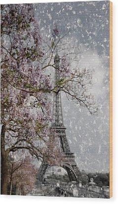 Printemps Parisienne Wood Print by Joachim G Pinkawa