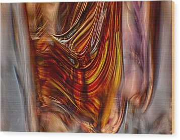 Profile Wood Print by Omaste Witkowski