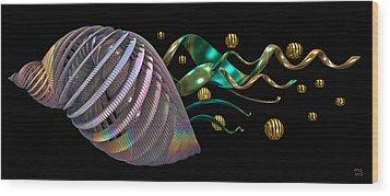 Progeny Wood Print by Manny Lorenzo